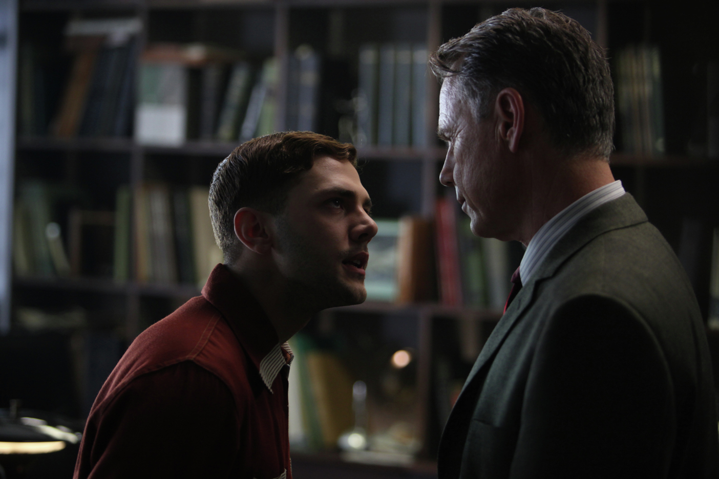 Xavier Dolan and Bruce Greenwood in Elephant Song (2014)