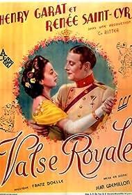 Henri Garat and Renée Saint-Cyr in Valse royale (1936)