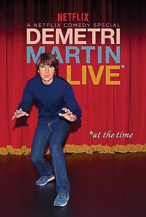 Where to stream Demetri Martin: Live (At the Time)