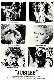 Adam Ant, Nell Campbell, Jayne County, Jordan, Jenny Runacre, and Toyah Willcox in Jubilee (1978)