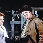 Alan Hale Jr. and Eleanor Parker in Many Rivers to Cross (1955)