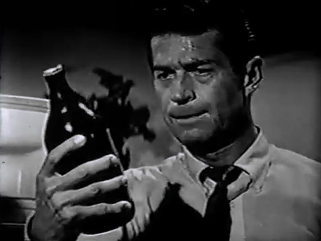 George Nader in Appointment with a Shadow (1957)