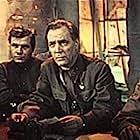 Vladimir Gulyaev and Mikhail Mayorov in Povest plamennykh let (1961)