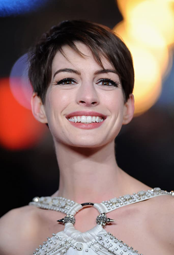 Anne Hathaway at an event for Les Misérables (2012)