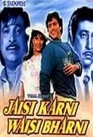 Jaisi Karni Waisi Bharni Poster