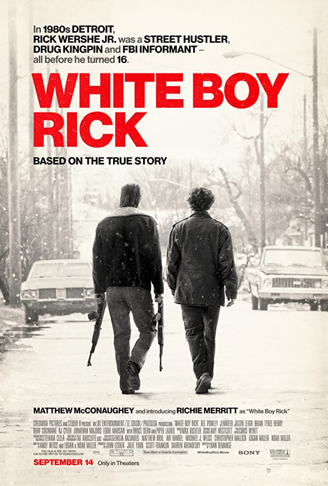 Watch White Boy Rick 2018 100MB/300MB Full Movie Download HD