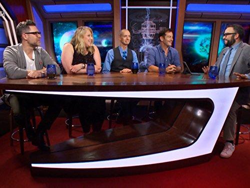 Jason Isaacs, Gretchen J. Berg, Aaron Harberts, Doug Jones, and Matt Mira in After Trek (2017)