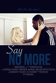 Say No More Poster