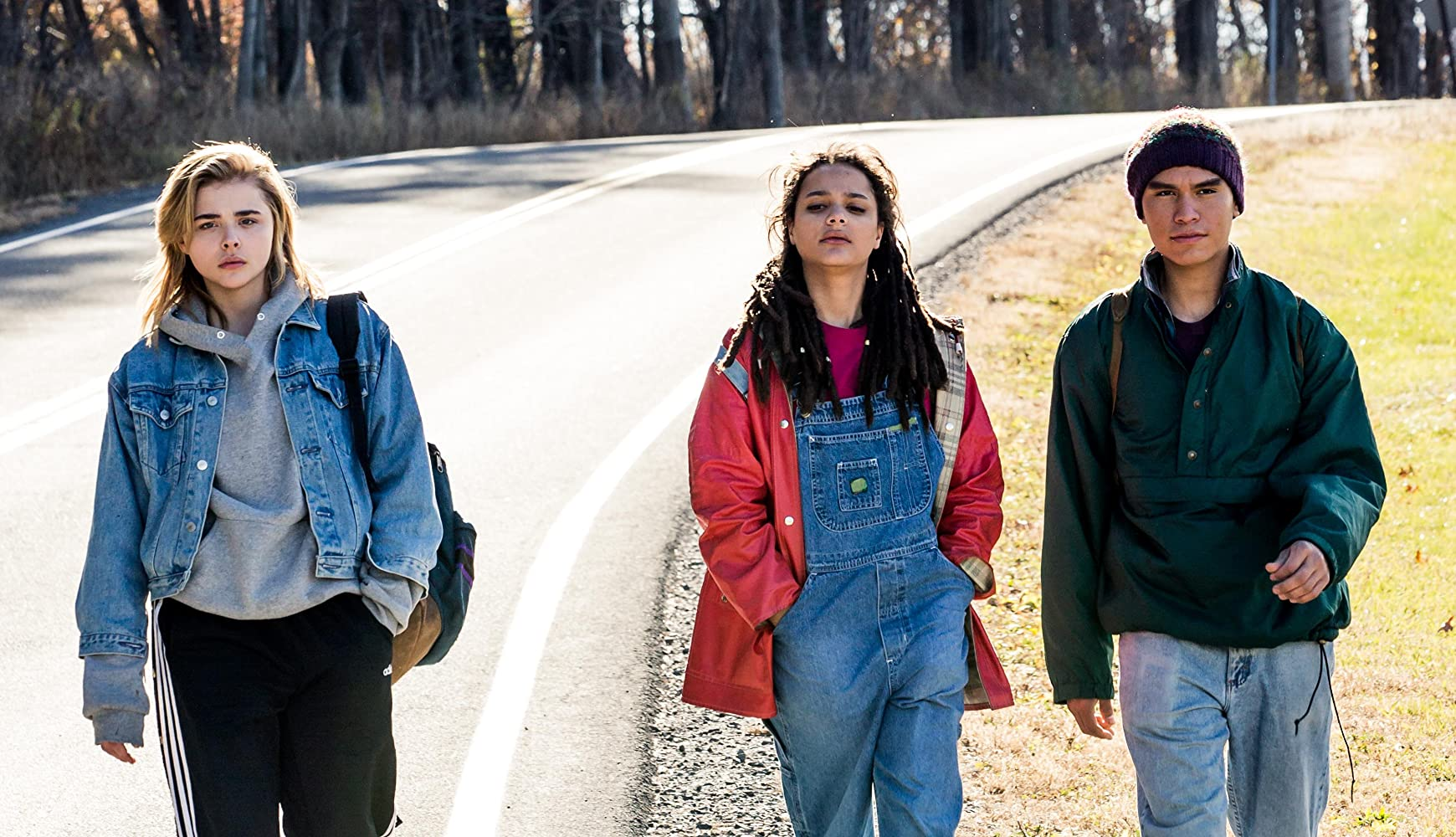 Chloë Grace Moretz, Forrest Goodluck, and Sasha Lane in The Miseducation of Cameron Post (2018)