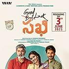 Jagapathi Babu, Aadhi, and Keerthy Suresh in Good Luck Sakhi (2021)