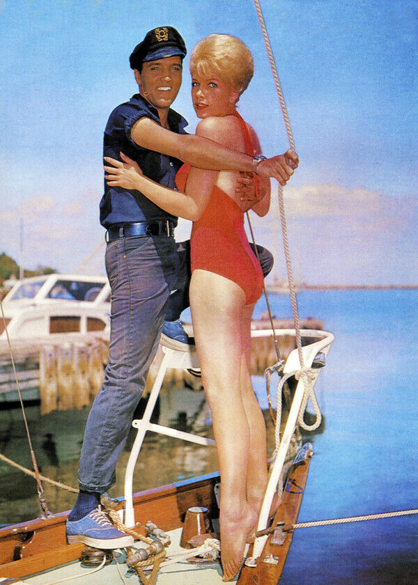 1962 ELVIS PRESLEY in the Movies 8x10 Photo GIRLS GIRLS GIRLS Stella Stevens 01