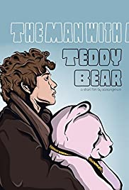 The Man with a Teddy Bear Poster