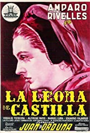 The Lioness of Castille Poster