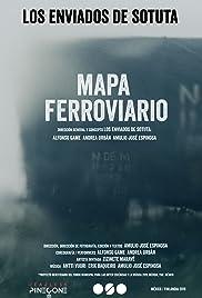 Mapa Ferroviario Poster