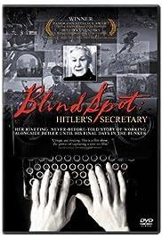 Blind Spot. Hitler's Secretary Poster