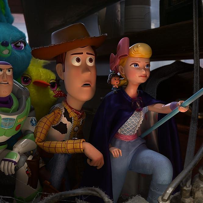 Tom Hanks, Tim Allen, Annie Potts, Keegan-Michael Key, Ally Maki, and Jordan Peele in Toy Story 4 (2019)