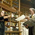 Morgan Freeman and Angelina Jolie in Wanted (2008)