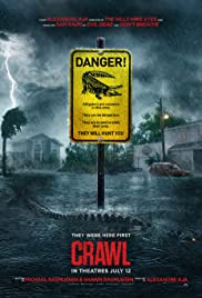 Movie Poster for Crawl.