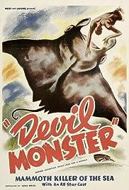 Devil Monster Poster
