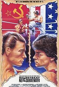 Jean-Claude Van Damme and Kurt McKinney in No Retreat, No Surrender (1985)