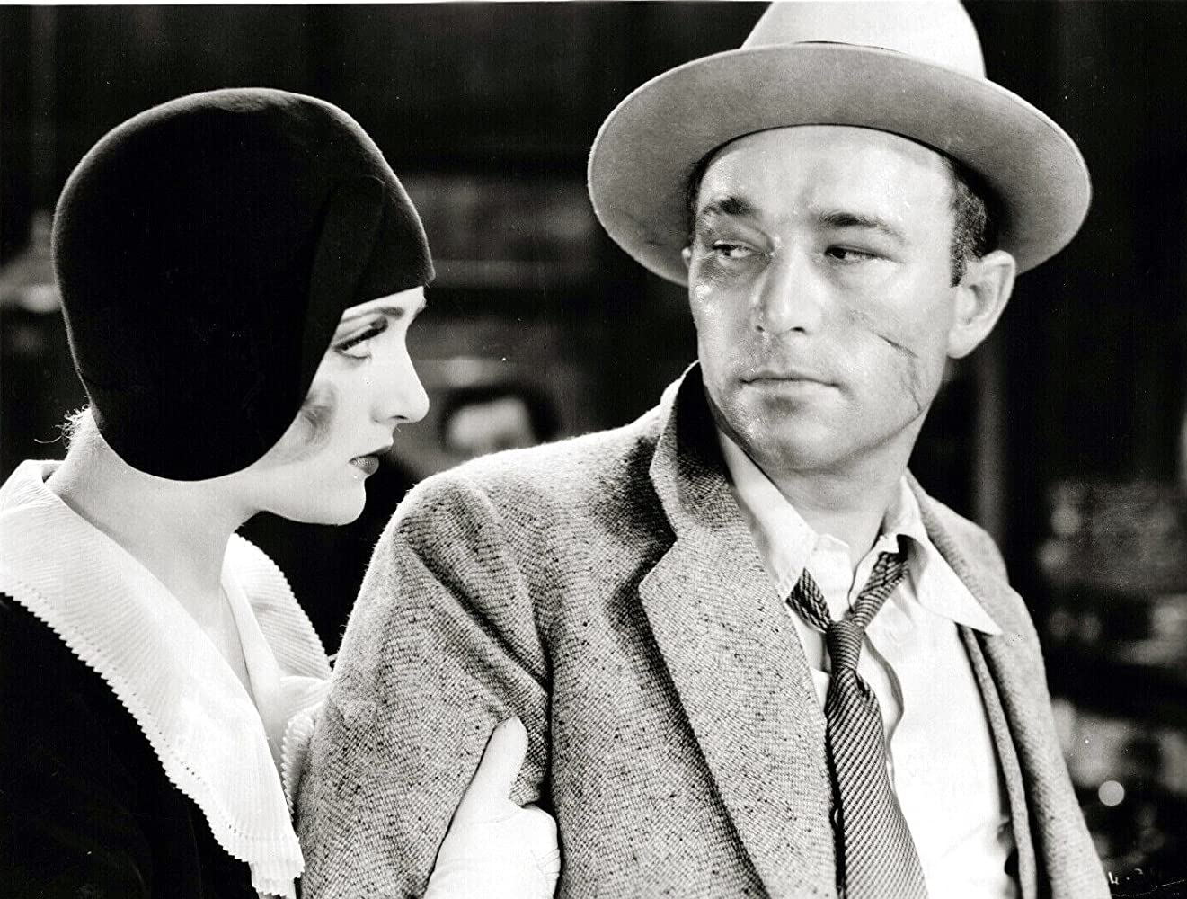 Carole Lombard and Robert Armstrong in Big News (1929)