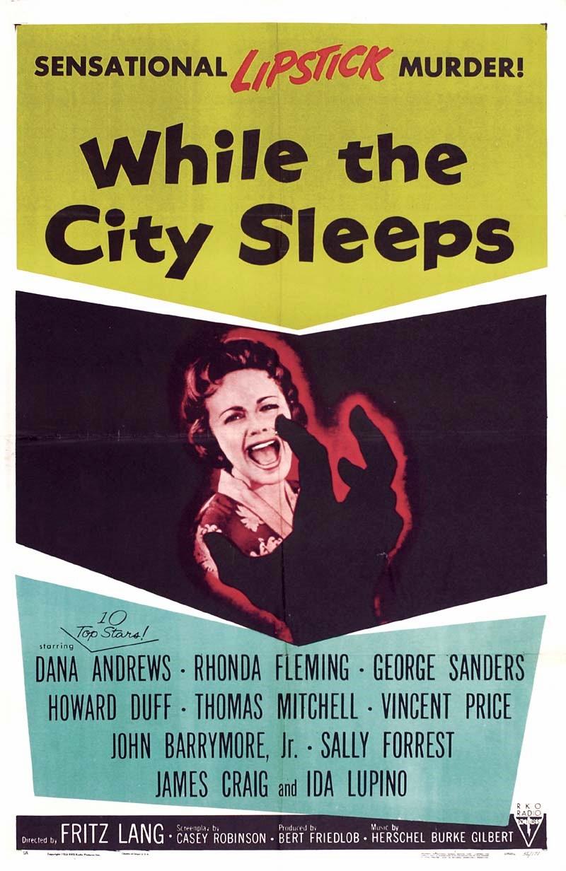 While the City Sleeps (1956) - IMDb