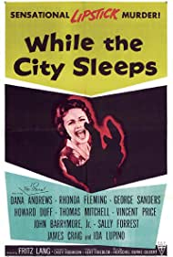 Sally Forrest and Sandra White in While the City Sleeps (1956)