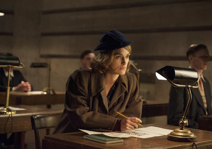 Keira Knightley in The Imitation Game (2014)