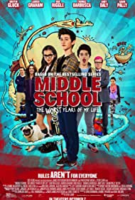 Andrew Daly, Lauren Graham, Rob Riggle, Griffin Gluck, Thomas Barbusca, Isabela Merced, and Alexa Nisenson in Middle School: The Worst Years of My Life (2016)