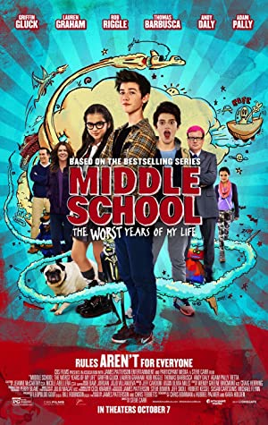 Watch Middle School: The Worst Years of My Life full movie online Poster