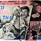 Darry Cowl, Mylène Demongeot, and Henri Vidal in Sois belle et tais-toi (1958)