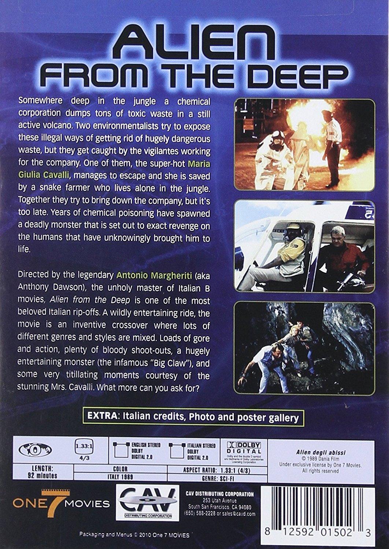 Alien From The Deep Dvd