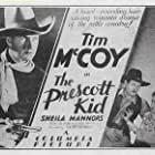 Tim McCoy, Sheila Bromley, and Stephen Chase in The Prescott Kid (1934)