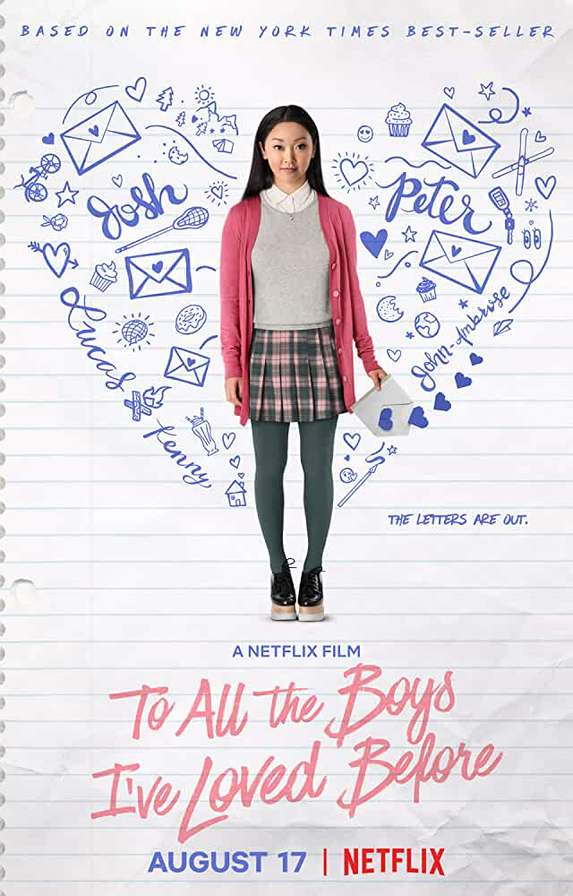 To All the Boys Ive Loved Before (2018) 720p HDRip x264 ESubs ORG. [Dual Audio] [Hindi (Original)  English] [850MB] Full Hollywood Movie Hindi || Watch Online || Google Drive