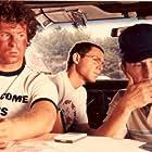 Robert Duvall, Eric Fryer, and Michael Zelniker in The Terry Fox Story (1983)
