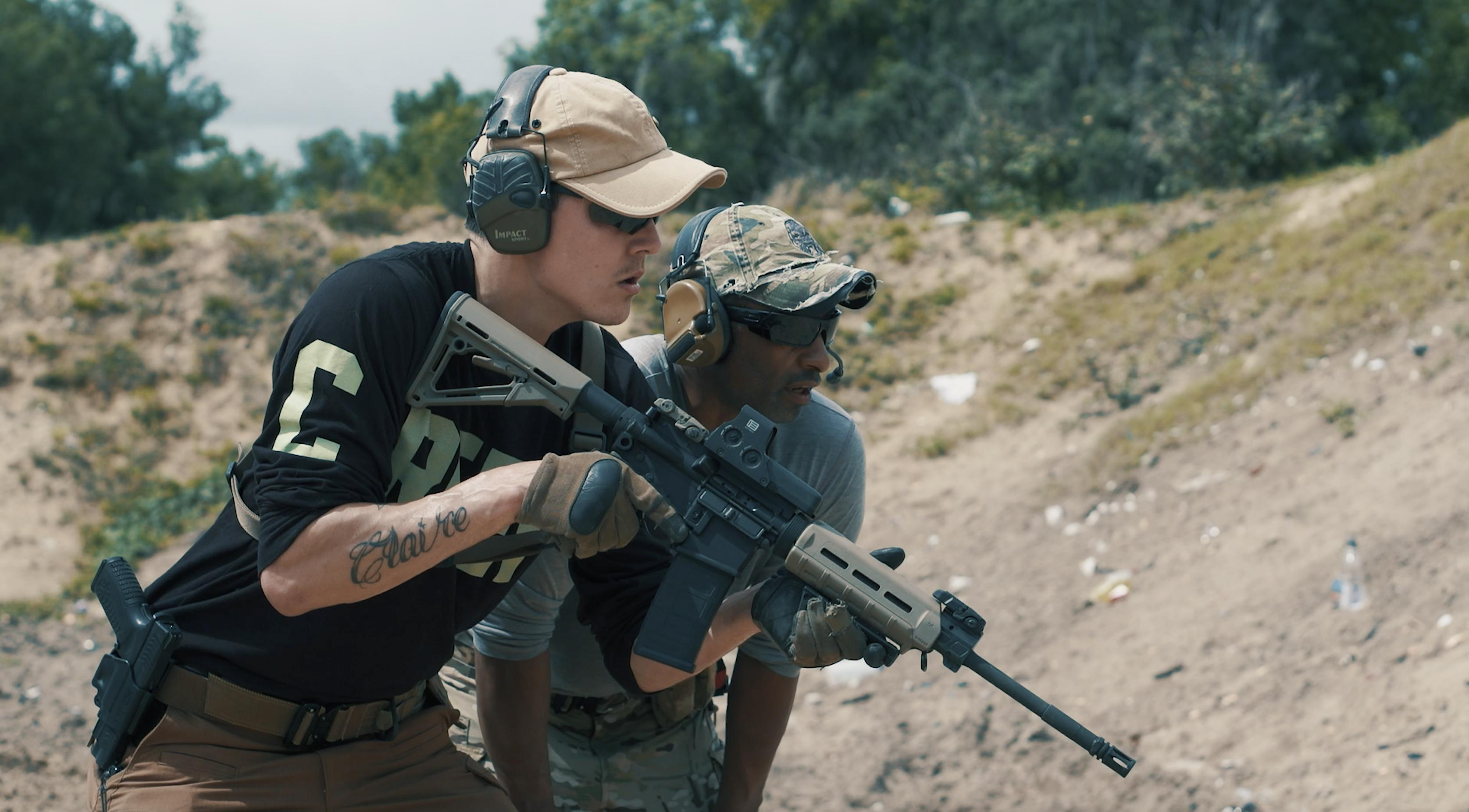 Bryan Bachman was an Infantryman Staff Sergeant in real life for eight years and is extremely proficient with rifle marksmanship and small unit tactics and techniques.