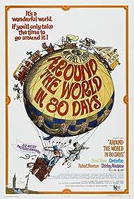 Around the World in 80 Days (1956) Poster - Movie Forum, Cast, Reviews