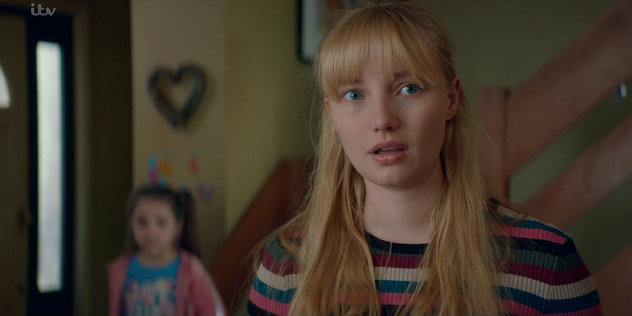 Kristy Philipps and Anya McKenna-Bruce in Cleaning Up (2019)