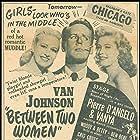 Gloria DeHaven, Van Johnson, and Marilyn Maxwell in Between Two Women (1945)
