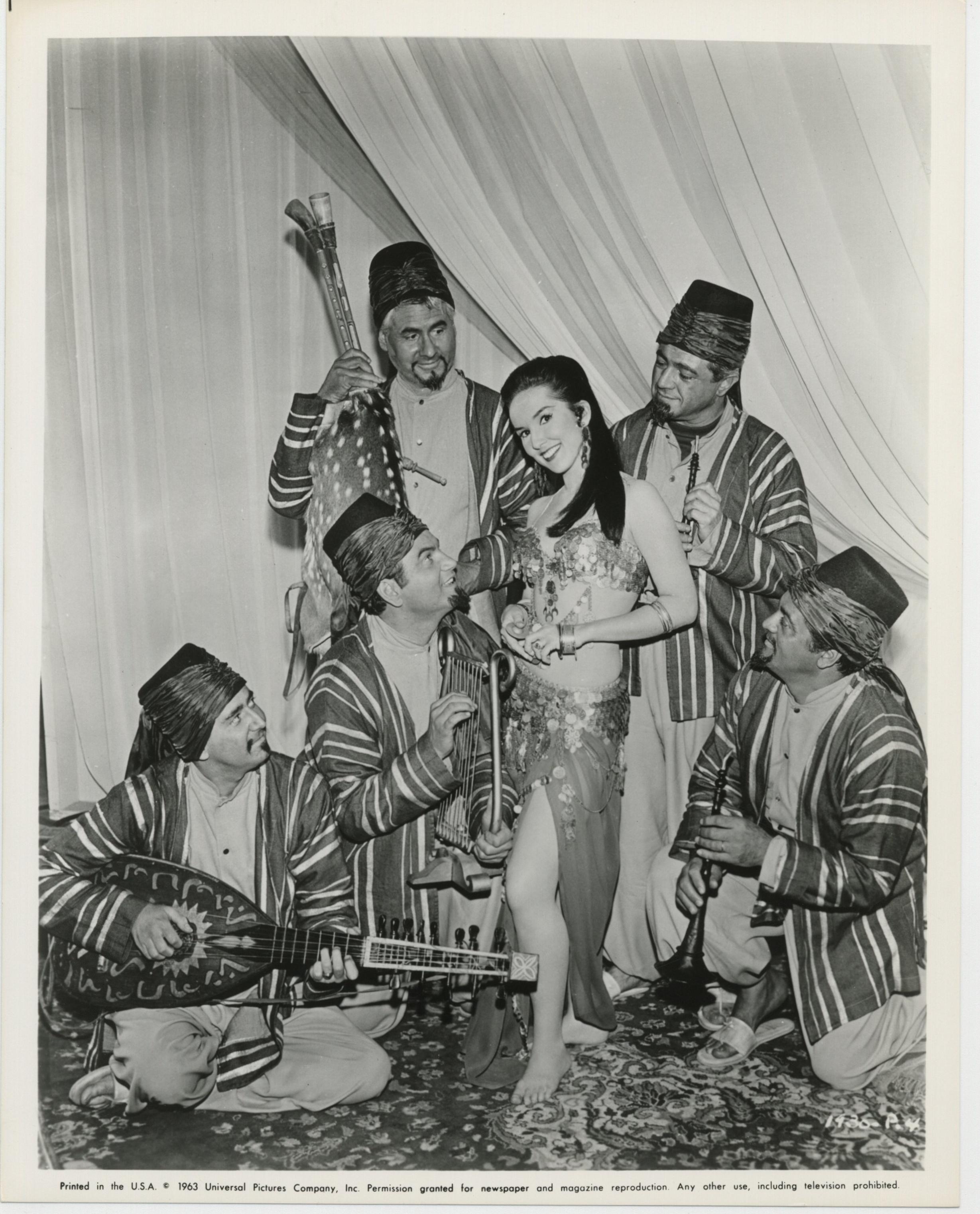 Lulu Porter in The Brass Bottle (1964)