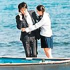Cecilia Cheung and Stephen Chow in Hei kek ji wong (1999)
