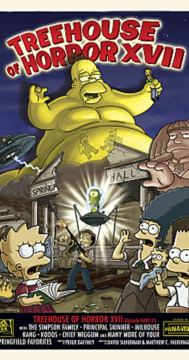 Halloween Simpsons Treehouse Of Horror.The Simpsons Treehouse Of Horror Xvii Tv Episode 2006 Imdb