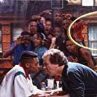 Spike Lee and Danny Aiello at an event for Do the Right Thing (1989)