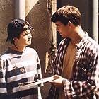 Lenka Novotná and Marián Beník in Ranc U Zelené sedmy (1996)