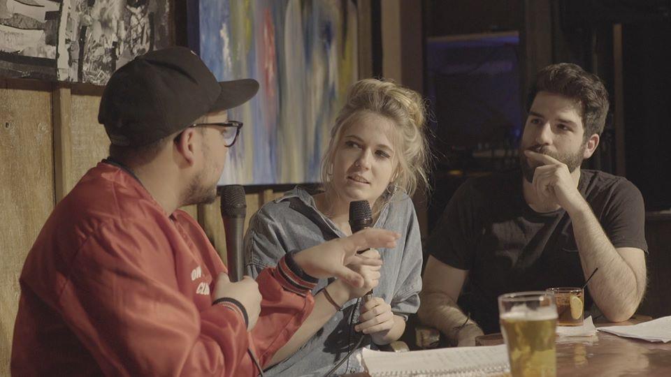 Yannick De Martino, Mehdi Bousaidan, and Rosalie Vaillancourt in Ça ou Ça (2017)