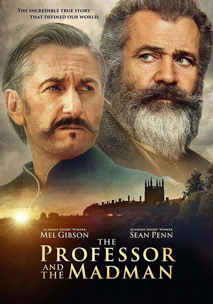 Mel Gibson and Sean Penn in The Professor and the Madman (2019)