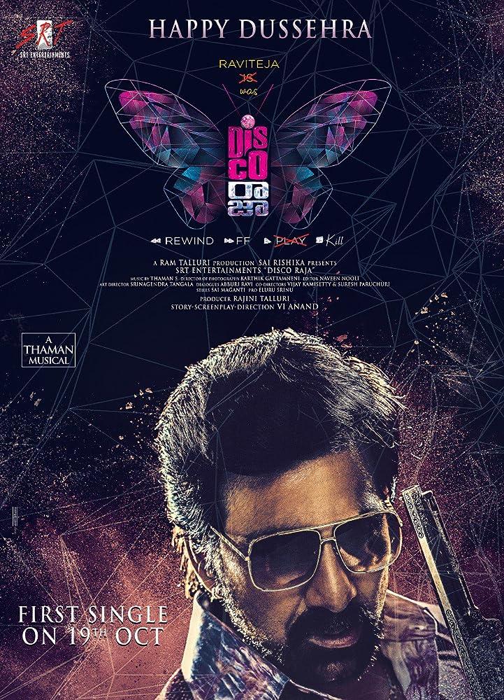 Disco Raja (2020) Telugu  HQ Pre-DVDRip – x264 – 700MB
