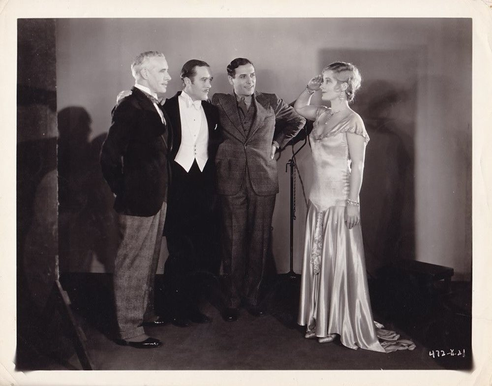 Paul Cavanagh, Tyrell Davis, Catherine Dale Owen, and Lewis Stone in Strictly Unconventional (1930)