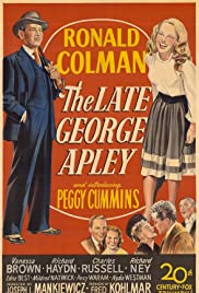 The Late George Apley(1947) Poster - Movie Forum, Cast, Reviews