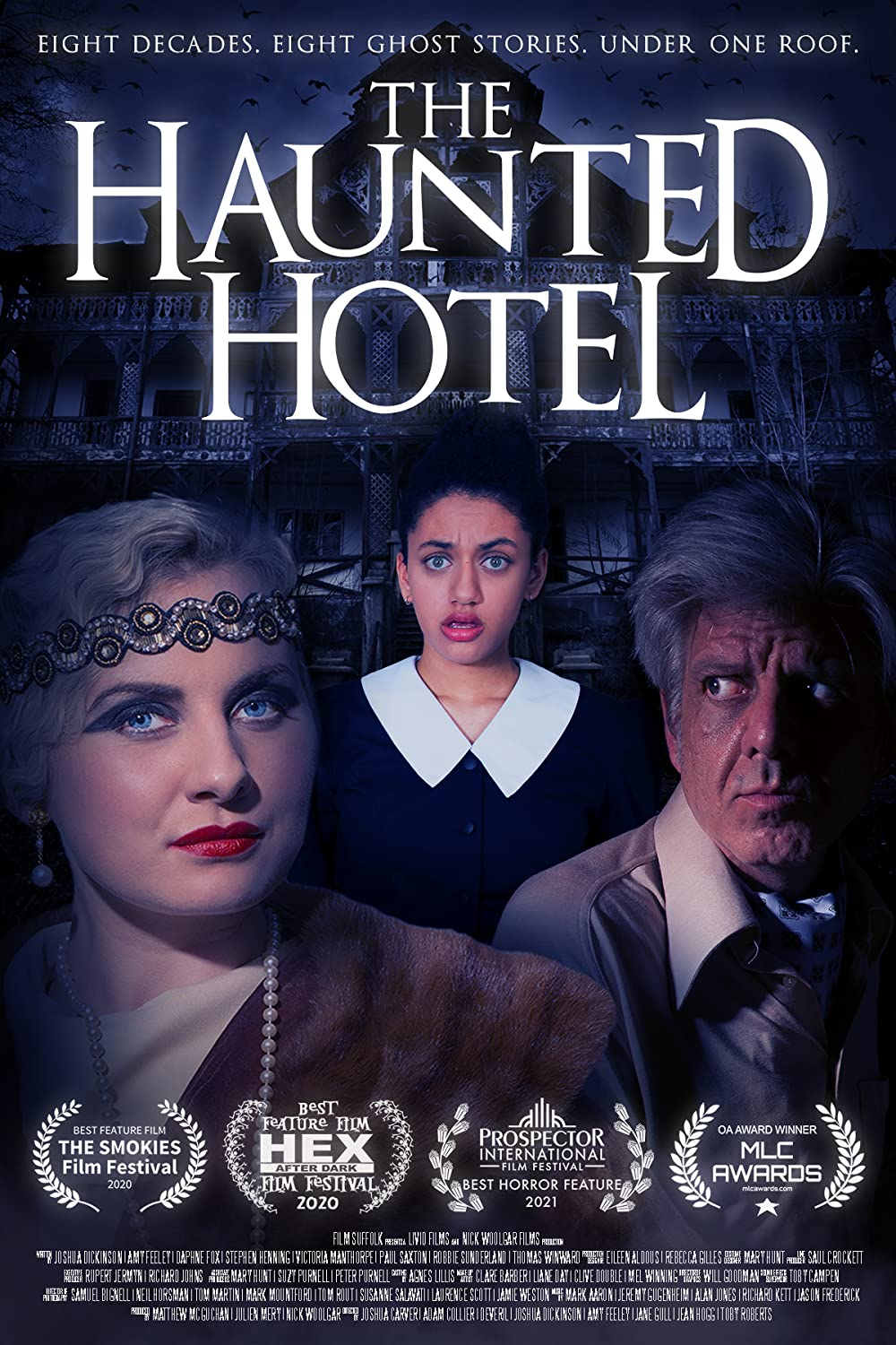 The Haunted Hotel 2021 English 720p HDRip ESubs 796MB   300MB Download